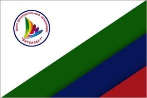 Флаг ЦДО Интеллектс обводкой