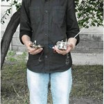 Павел с двумя терменвоксами