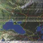 снимок с метеоспутника